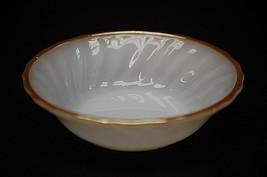 "Old Vintage 5"" Milk White Swirl Fruit Dessert Berry Bowl by Anchor Hocki... - $8.90"