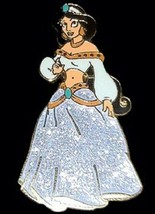 Disney Aladdin Sparkle Princess Purple Gown Jasmine pin - $9.79