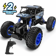 Rc Car 1:18 Large Scale, 2.4Ghz All Terrain Waterproof Remote Control Truck Wi