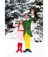 Christmas Buddy Elf Costume & Jovie Costume for Kids Adult Buddy Elf and... - $89.00