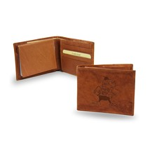 Cleveland Browns Wallet Embossed Billfold Official NFL Leather Brown - $26.99