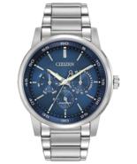 Citizen BU2010-57L Eco-Drive Corso Men's Blue Dial Silver-Tone 44mm Watch - $375.00
