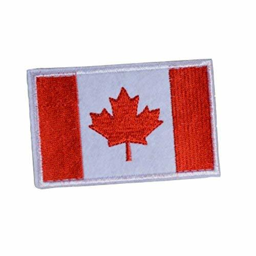 Set Of 10 National Flag Badge Embroidered Cloth Patch Stickers Affixed