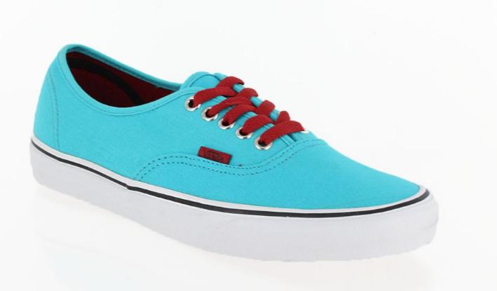 Vans AUTHENTIC Scuba Blue Chili Pepper VN-0QER6LS Walking Shoes Mens - Womens