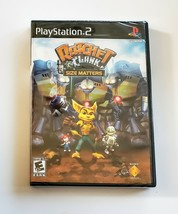 Ratchet & Clank: Size Matters (Sony PlayStation 2, PS2, 2008) - NEW - $27.50