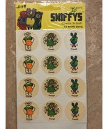 Vintage Sniffys Scratch N Sniff Orange Sticker Sheet 1981 Rare - $99.99