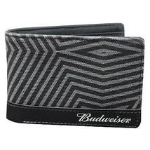 Budweiser Bi-Fold ID Wallet Grey - $26.98