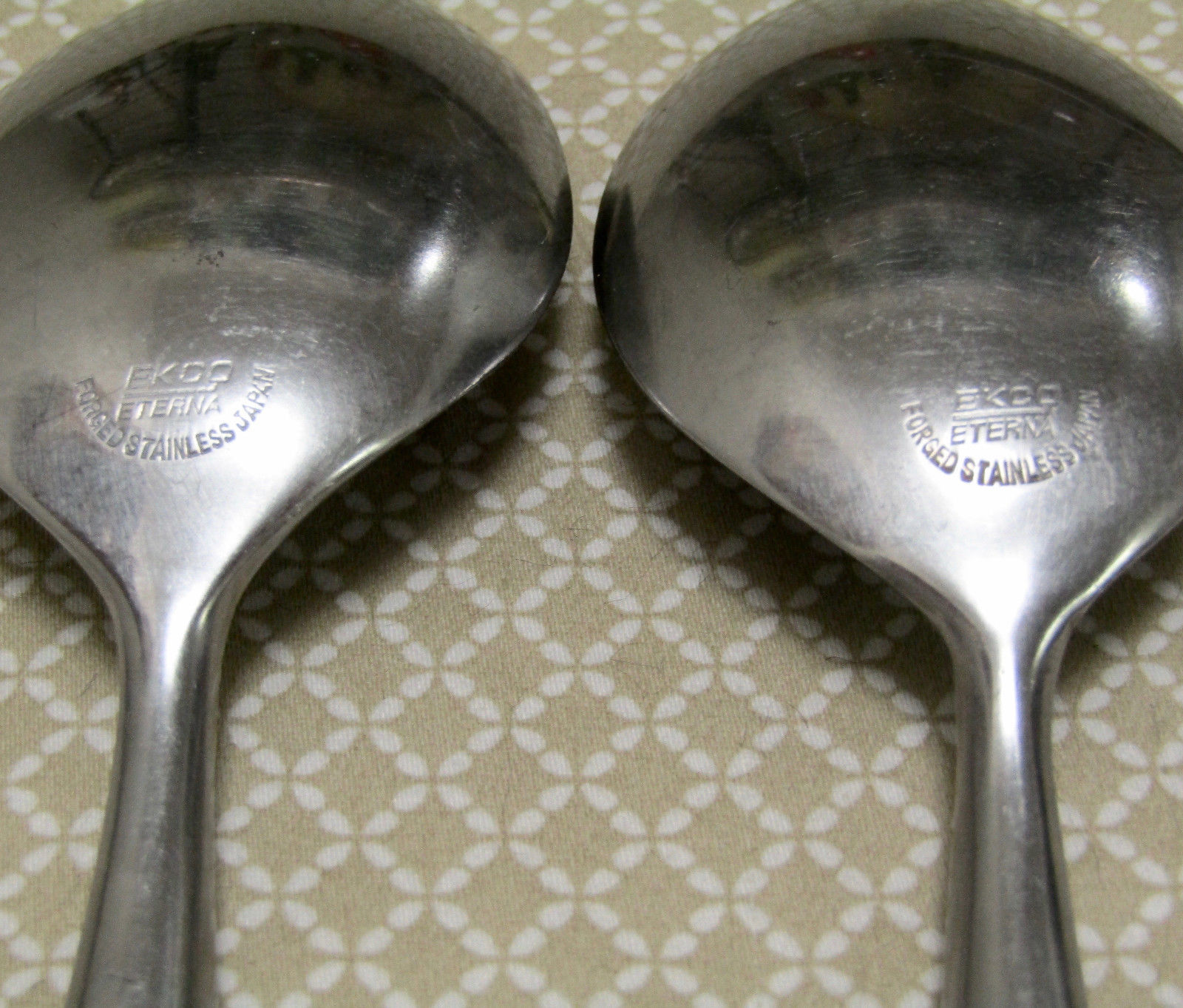 """Ekco Epic Canoe Muffin 8 1/4"""" Serving Spoons Set Of Two image 3"""