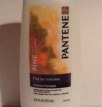 New Pantene Pro V Fine Hair Solutions Flat To Volume Conditioner 12.6 Fl Ozs - $18.29