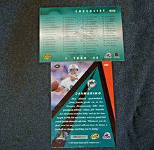 Dan Marino # 13 Miami Dolphins QB Football Trading Cards AA-19FTC3003 Vintage Co image 8
