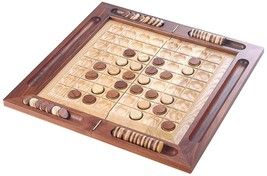 Hand Made Wooden Board Game OTHELLO REVERSI DX NEW! - $335.61