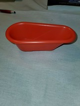 Mouse Trap Board Game Replacement Part Red Bathtub Milton Bradley - $2.30