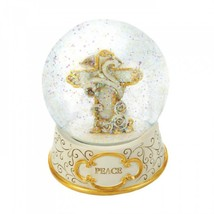 Peaceful Cross Snow Globe - £22.43 GBP