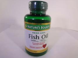 Nature's Bounty Odor-Less Fish Oil 1400 mg 39 Coated Softgels {VS-N} - $10.40