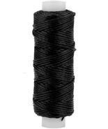 Tandy Leather Waxed Nylon Thread 25 yds. 22.9 m Black 1227-01 - $9.17