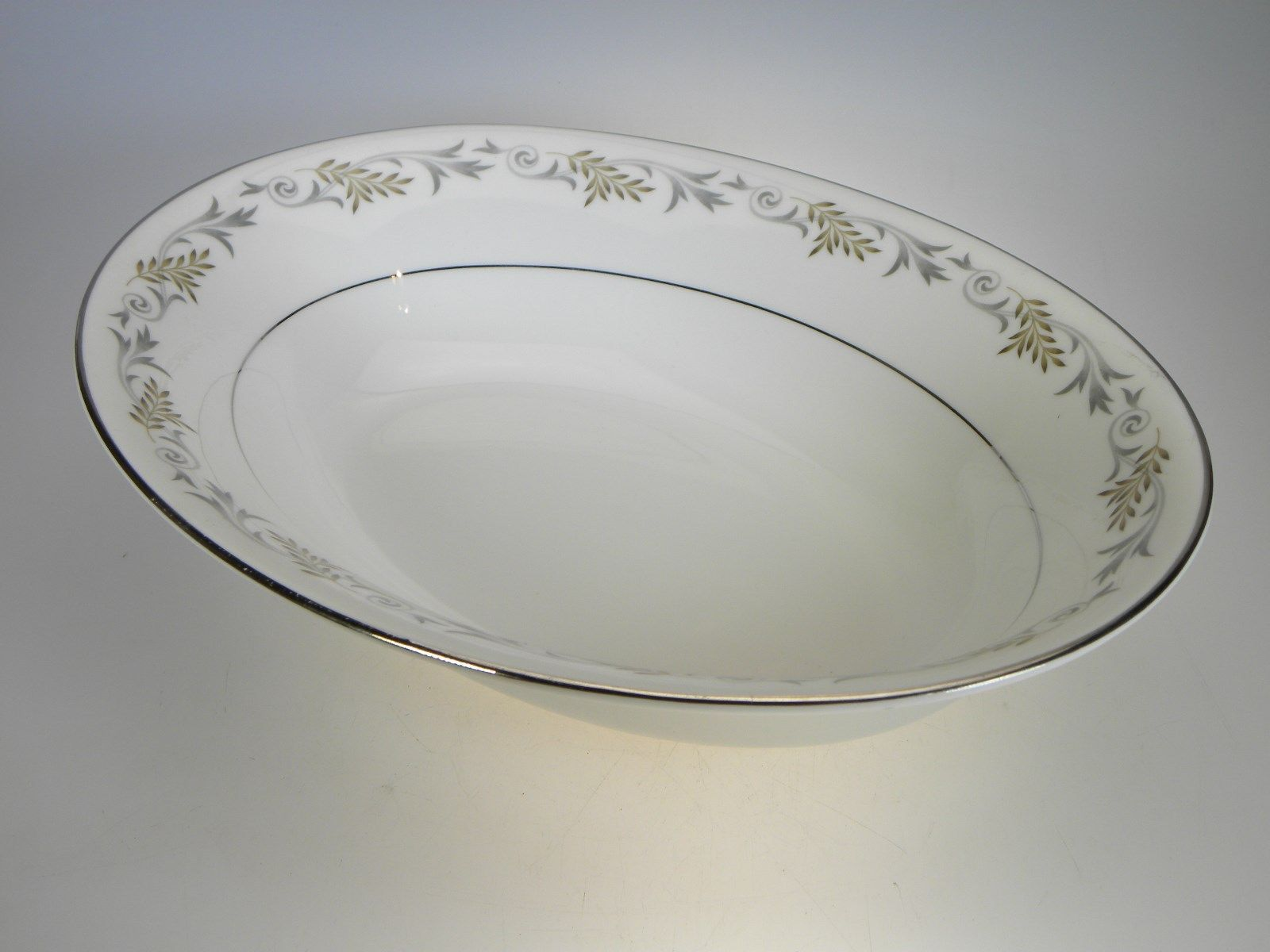 Syracuse China Melodie Oval Vegetable 10  - $13.98 & Syracuse China Dinner Plates: 1 customer review and 33 listings