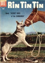 Rin Tin Tin Comic SEP/OCT 1956--No. 15 - $5.93