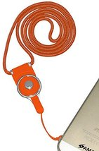 Amzer Detachable Cell Phone Neck Lanyard - Retail Packaging - Orange - $11.83
