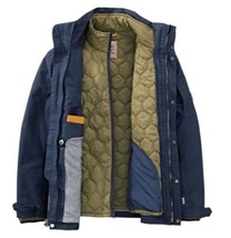 $298  TIMBERLAND MEN'S 3-IN-1 WATERPROOF FIELD JACKET HOODED A1AIF NAVY XXL - $165.00