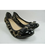 Cole Haan Nikeair  Monica  Black Leather With Animal Print Womens Size U... - $19.59