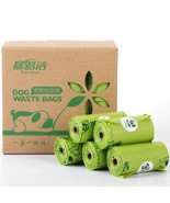 2019 New Dog Poop Bags Biodegradable Pet(green 8 Rolls) - $28.09