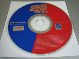 Reading Blaster Ages 6-9 - Version 1.03c (PC, 2002) - Disc Only!!! - $7.27
