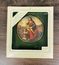 Hallmark Madonna Child and St. John Collectible Christmas Ornament 1984 - $7.87