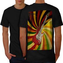 Bass Guitar Song Music Shirt Rock Music Men T-shirt Back - $12.99+