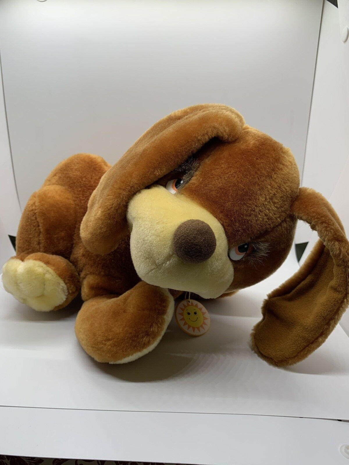 "Sunburst Pets 1983 Vintage Plush Brown Dog Commonwealth Vtg Stuffed Animal 13"" image 5"