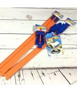 Mattel Hot Wheels Track Lot 1 Launcher 1 Loop Builder 1 Track Set 1 Surf... - $24.26