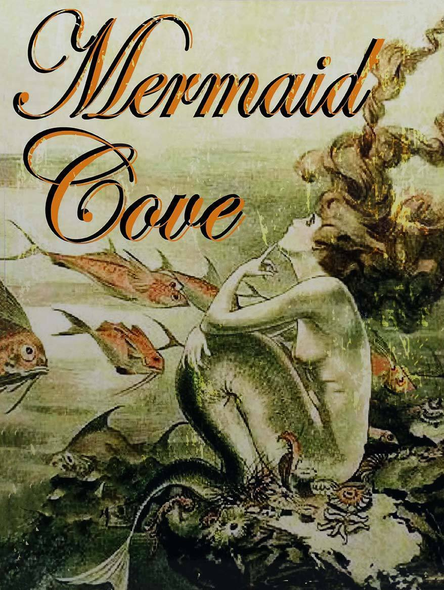 Mermaid Cove Fantasy Ocean Lore Feminine Decor Metal Sign