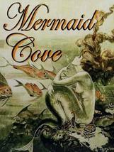 Mermaid Cove Fantasy Ocean Lore Feminine Decor Metal Sign - $29.95