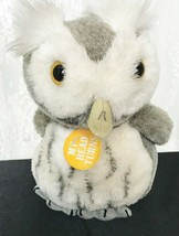 "Vintage 1986 Dakin Plush Owl 7"" Head Turns  - $13.91"