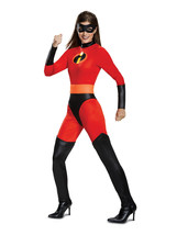 Disguise Women's Mrs. Incredible Classic Adult Costume, red, L (12-14) - £35.57 GBP
