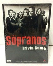 NEW Factory Sealed The Sopranos Trivia Board Game By Cardinal (2004) - $5.99