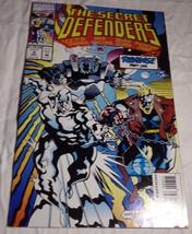 Secret Defenders #9 1993 Fine+ F+ Marvel Comic Book - $2.59