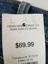 Neuf J Brand Femme Jeans Skinny Maria 23110O212 Divulgation Bleu Sz 22 Pdsf image 8
