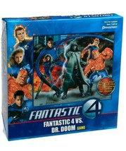 NEW SEALED 2005 Pressman Fantastic Four vs Doctor Doom Board Game - $23.05