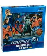 NEW SEALED 2005 Pressman Fantastic Four vs Doctor Doom Board Game - $23.05