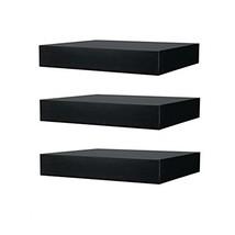 IKEA Floating Wall Lack Shelf (3, Black) - $45.35