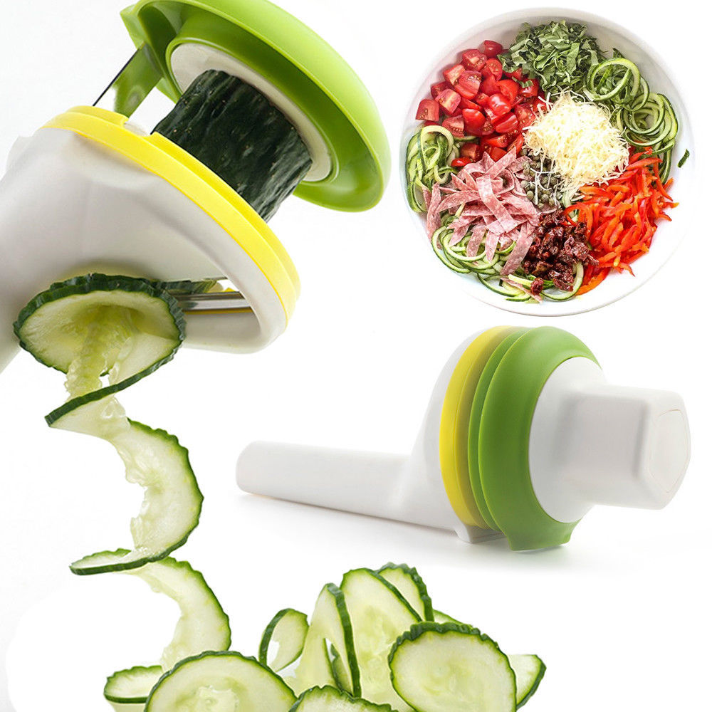 Good Grips Simple 3 In 1 Multi-functional Handhelp Spiralizer Vegetable cutter