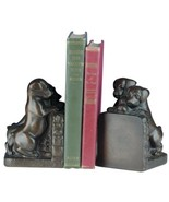 Bookends Bookend TRADITIONAL Antique Puppies Peering Over - $169.00