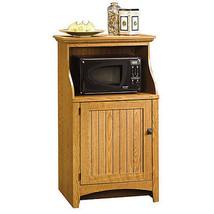 Small China Cabinet Storage Pantry Kitchen Microwave Stand Island Buffet... - $186.26