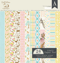 Authentique - Eastertime 12x12 Textured Double-Sided Paper Pad (Easter, ... - $16.50