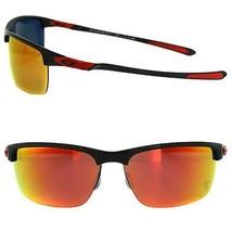 Oakley Sole Ferrari Carbon Blade Lucidato W/Rubino Irdium Polarizzati OO... - $1,062.19