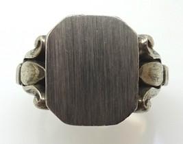 George Jensen Sterling Signet Ring #54 (#3555) - $470.25