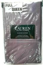 Ralph Lauren Dunham Sateen Pillowcases Charcoal Gray Full/Queen - $34.58
