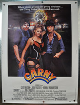 Carny Original Movie Poster 1980 30 x 40 - $33.85