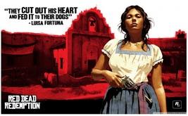 Red Dead Redemption Poster 8 Print on Huge Silk... - $15.99