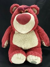 "Disney Store Toy Story 3 Lotso Bear 15"" Plush Stuffed Animal Disney Patch - $17.81"